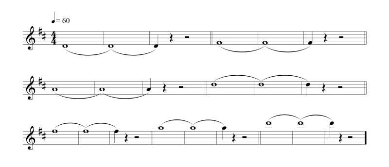 Fig. 4.6.- Notas tenidas
